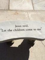 Let the Children Come to Me - Bench