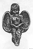 Sitting Boy Bench Angel