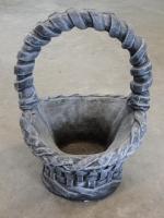 Concrete Weave Basket