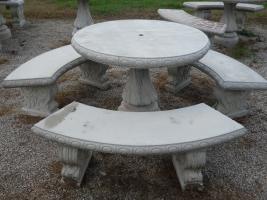 """TBS101 - 42"""" Plain Table Set"""
