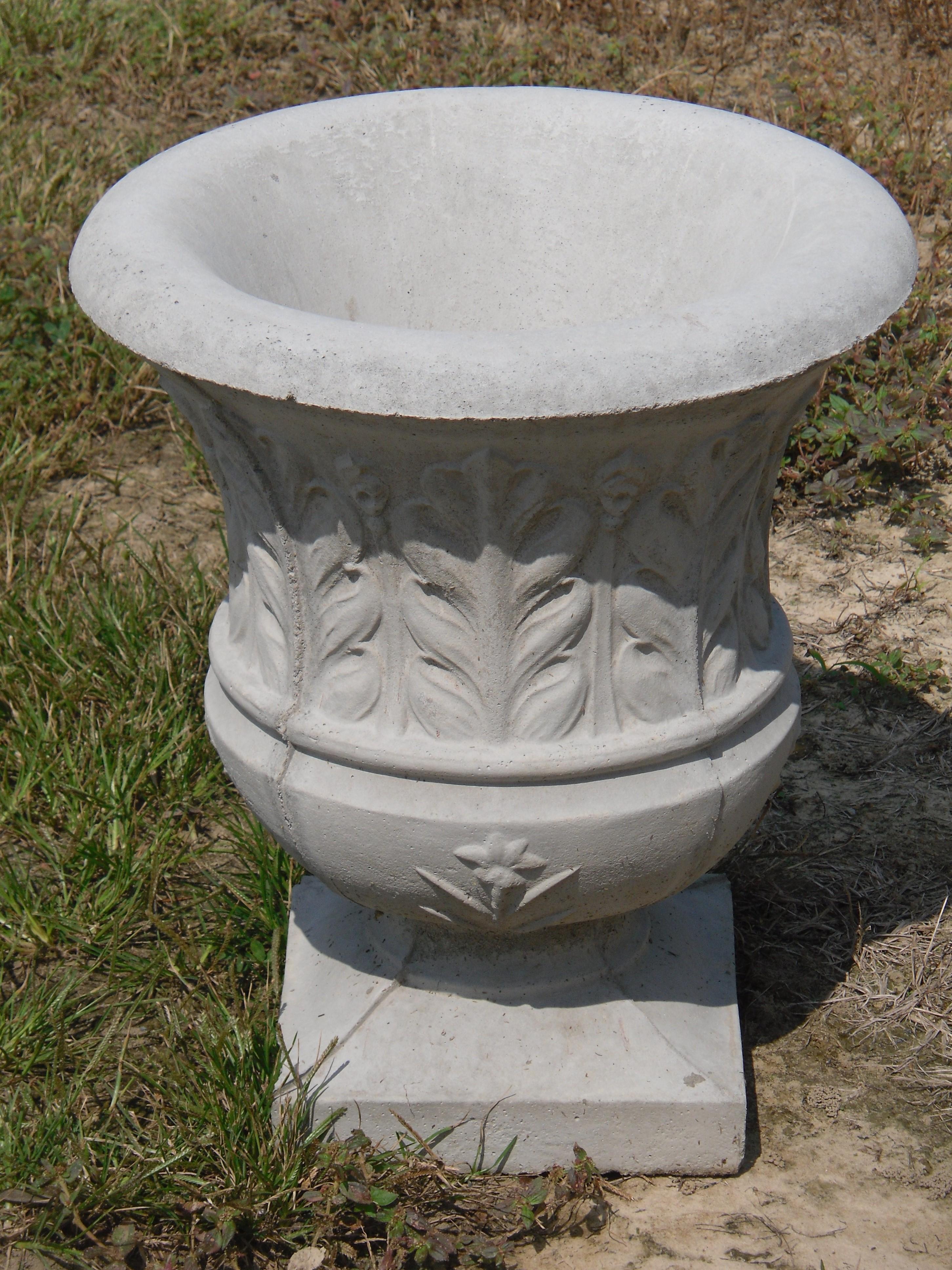 Concrete Planters - Patio Planters - Outdoor Planters - The Cement Barn