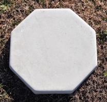 Item Step 164 18 Octagon Stone Stepping Natural 7 00 Painted 12