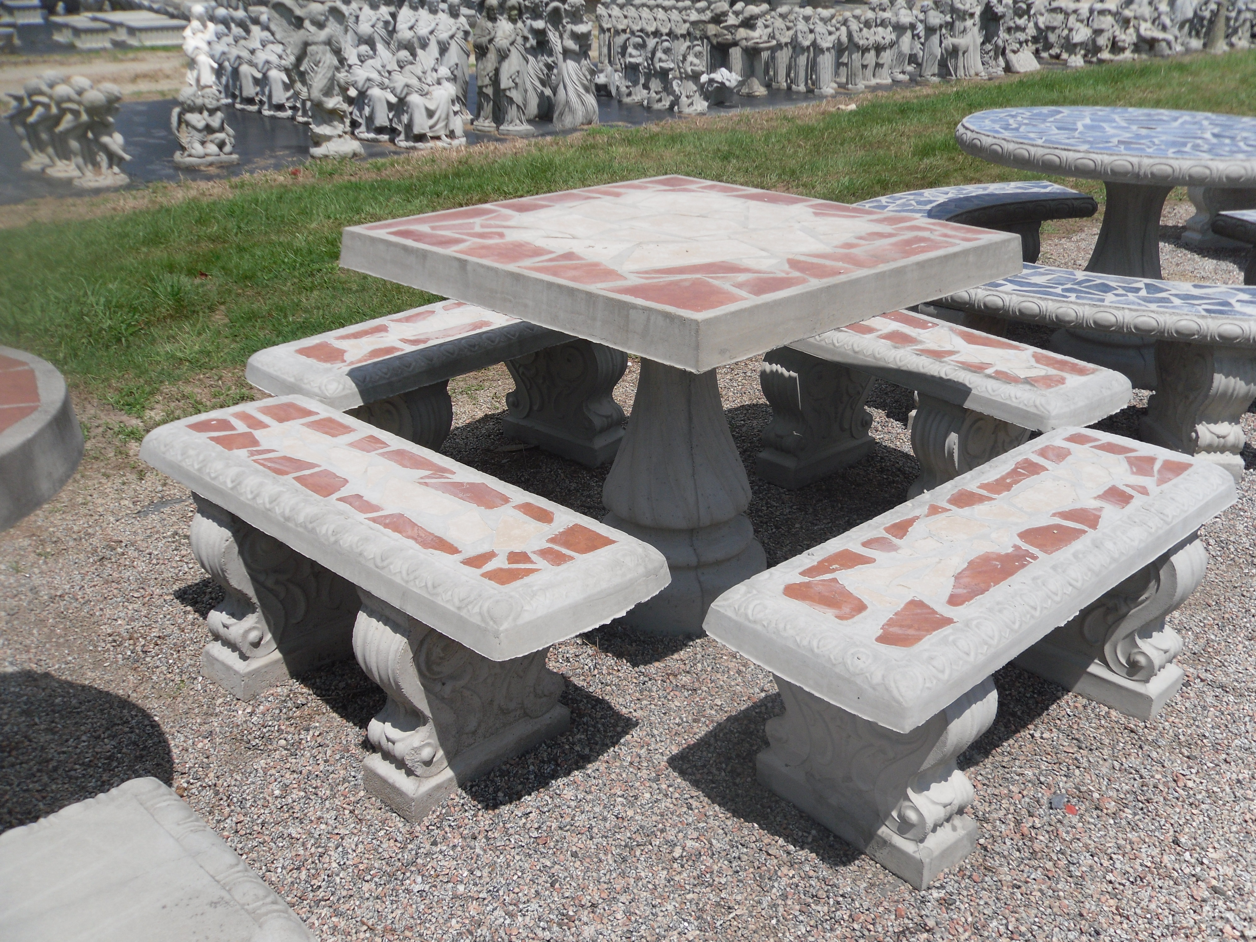 Sensational Patio Table Sets The Cement Barn Manufacturers Of Uwap Interior Chair Design Uwaporg