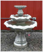Double Bowl Fountain