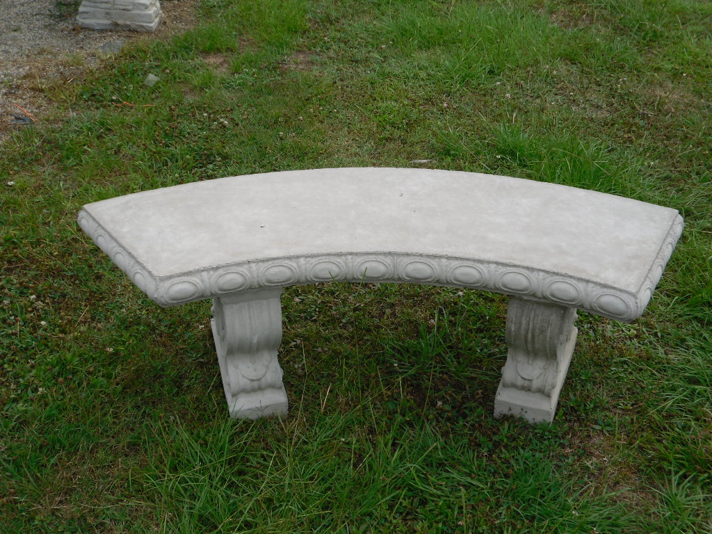 Benches The Cement Barn Manufacturers Of Quality Concrete Statues Garden Center
